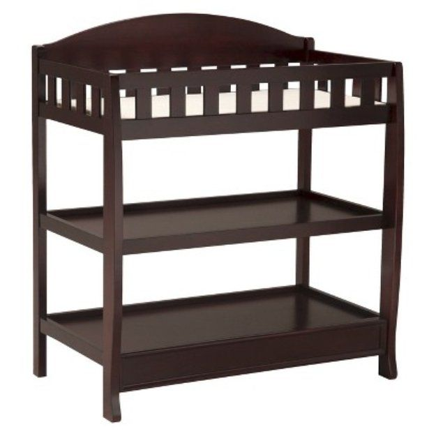 I'm learning all about Delta Children Changing Table - Espresso cherry at @Influenster!