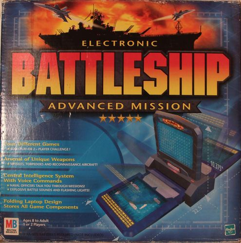 Electronic Battleship Advanced Mission Interactive Game Hasbro