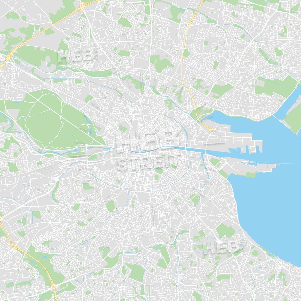 Stockholm map print, stockholm map download, city map stockholm.