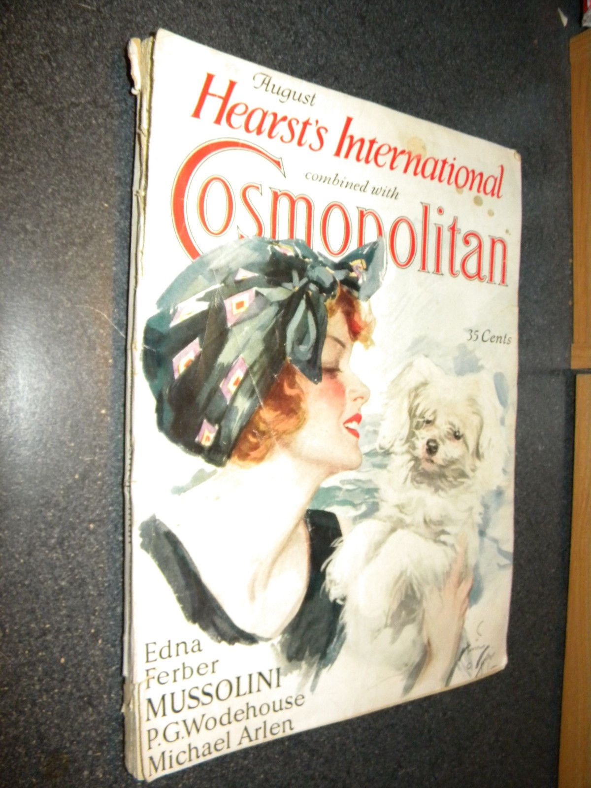 Pin On 1925 1929 Vintage Cosmopolitan Covers Ads