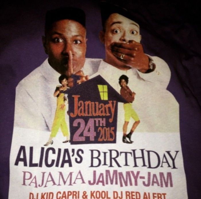 Swizz Beats Surprises Alicia Keys with a 90's Theme House Party Birthday  Bash! | KBrandUniversity