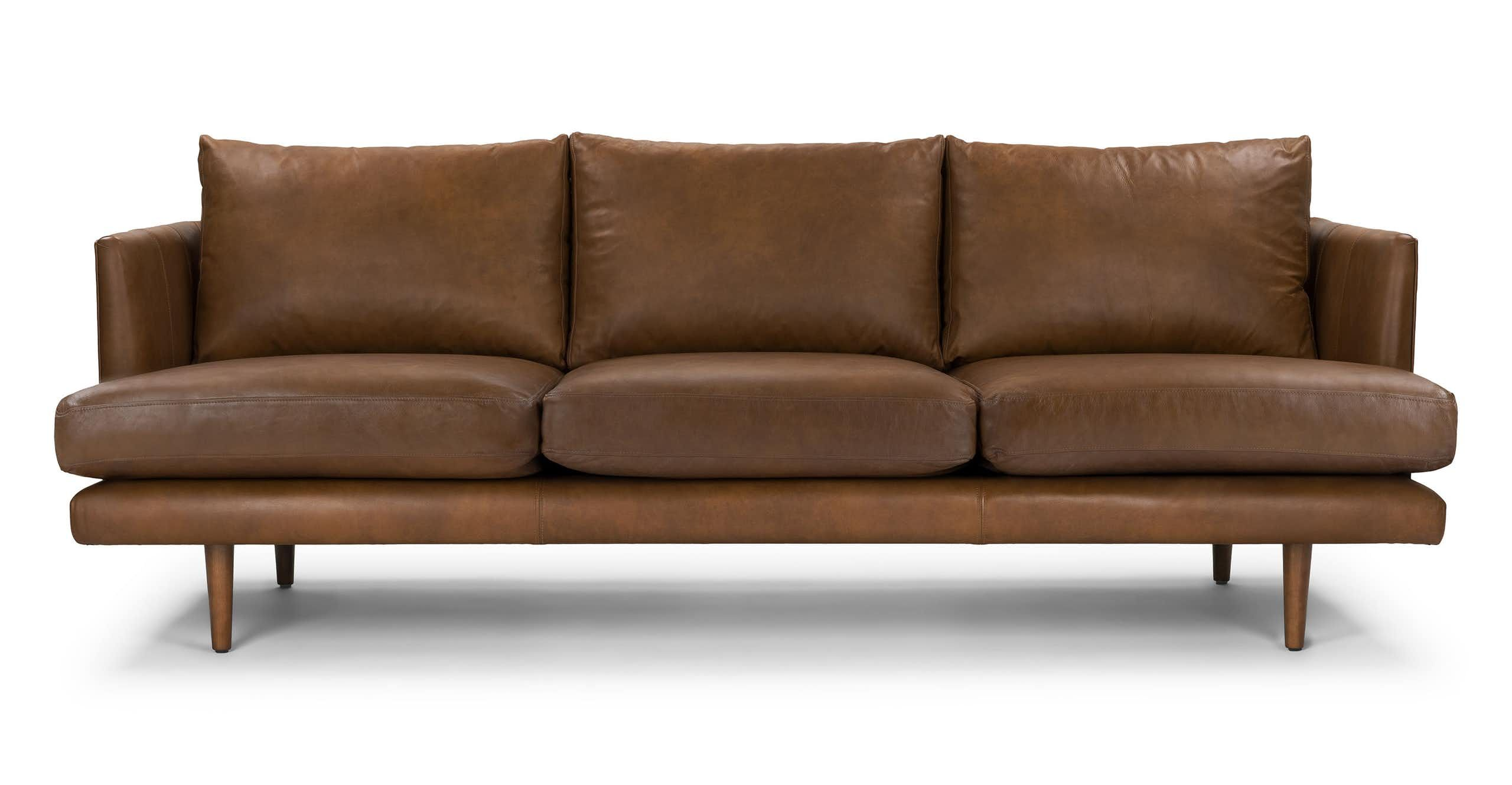 Burrard Bella Tan Sofa Portland Traditional