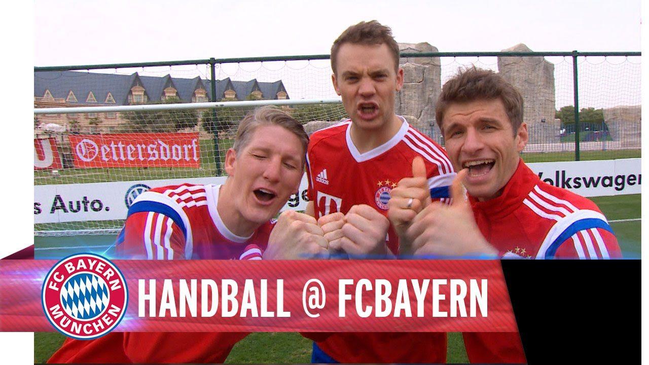 Handball Mit Neuer Muller Schweinsteiger Ich Liebe Sie Alle Drei Handball Handball Wm Deutsche Fussballnationalmannschaft