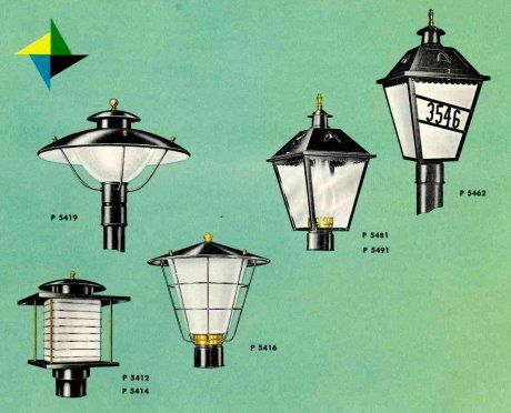41 Midcentury Lighting Ideas Post Lanterns Lamp Posts Wall And Landscaping Lights