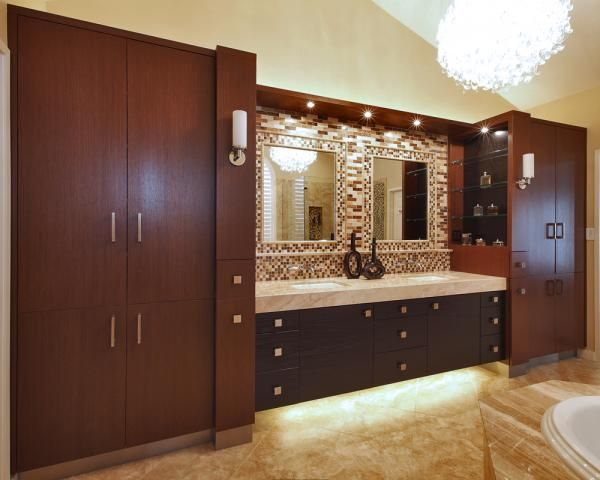 Best Another Well Done Bathroom And Cabinets Design 400 x 300