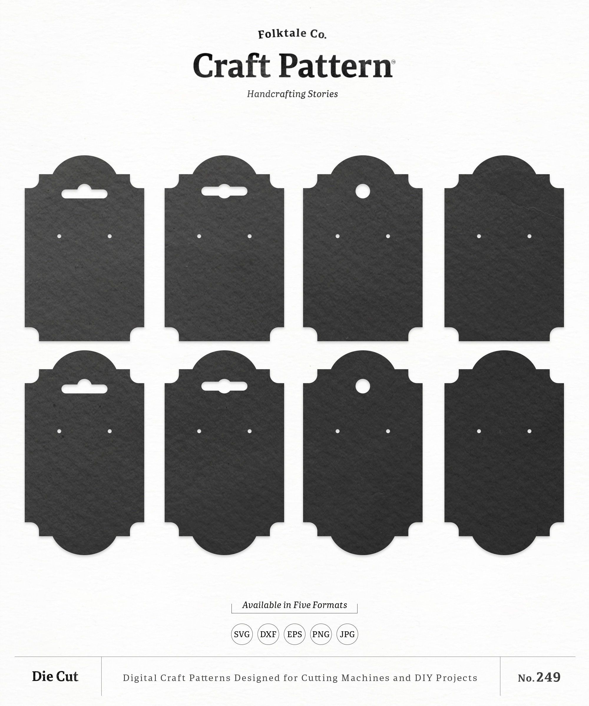 Earring Card Template Free Awesome Blank Jewelry Cards Earring Cards Necklace Cards Earring Earring Cards Template Earring Cards Jewelry Display Cards