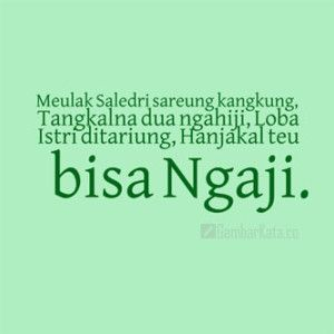 Kata Kata Lucu Sunda Terbaru 2019 Cikimmcom
