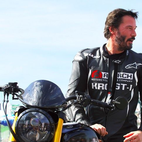 """70 Likes, 2 Comments - HARLEY STYLE (@harleystyle_official) on Instagram: """"Keanu Reeves and Arch Motorcycle #harleystyle #ArchMotorcycle #suzuka8hours #キアヌリーブス #keanureeves…"""""""