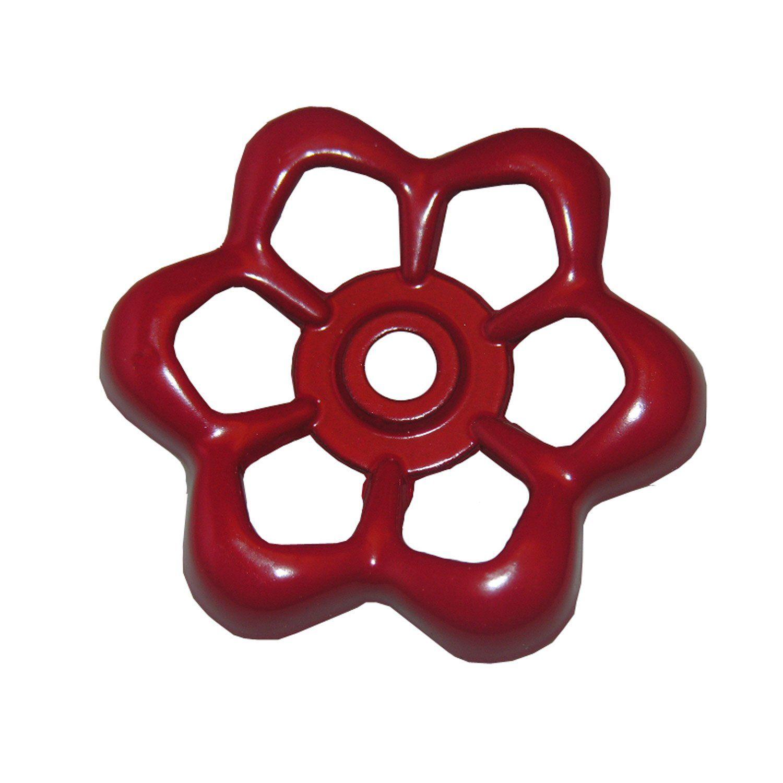 LASCO 015105 Metal Outside Faucet Hose Bibb Round Wheel