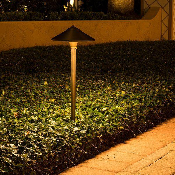 VOLT® Max Spread Brass Path & Area Light   Wilkins