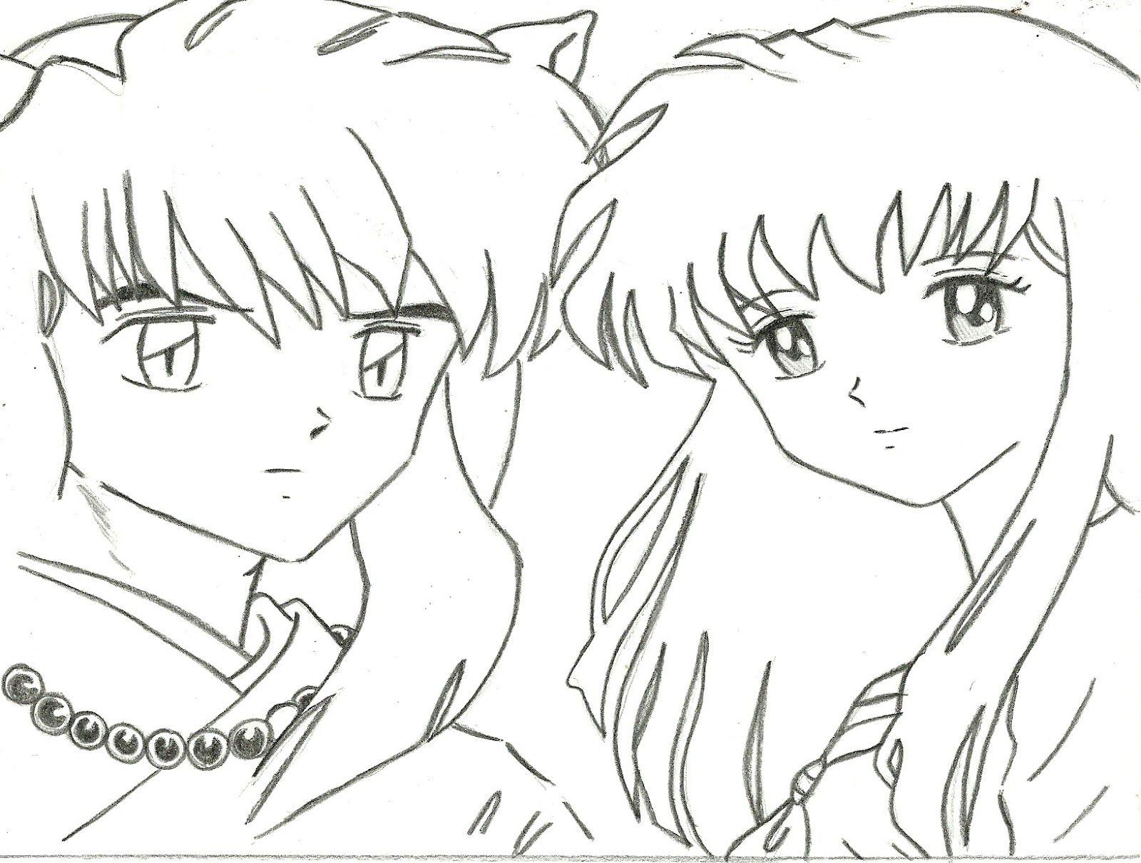 Resultado de imagem para desenho do inuyasha | :v | Pinterest ...