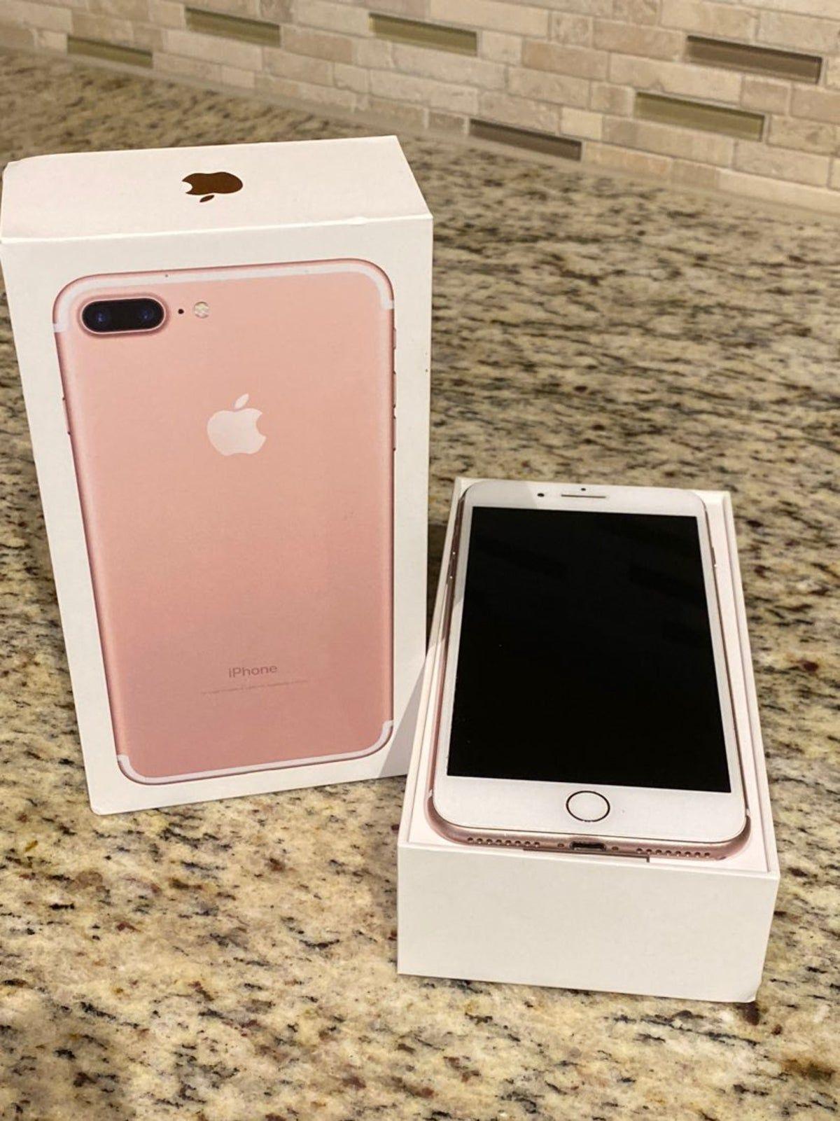 Iphone 7 Plus Rose Gold 32 Gb Sprint Celulares Apple Iphone 7 Plus Rose Acessorios Iphone