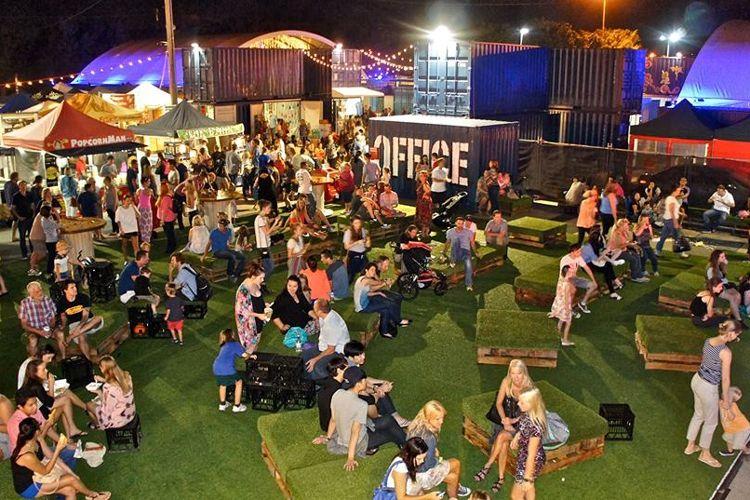 Brisbane's Eat Street Markets, Brisbane, QLD, Australia