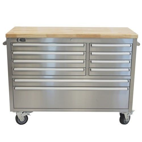 Outstanding Storage Cabinet Workbench Garage Rolling Toolbox Stainless Cjindustries Chair Design For Home Cjindustriesco