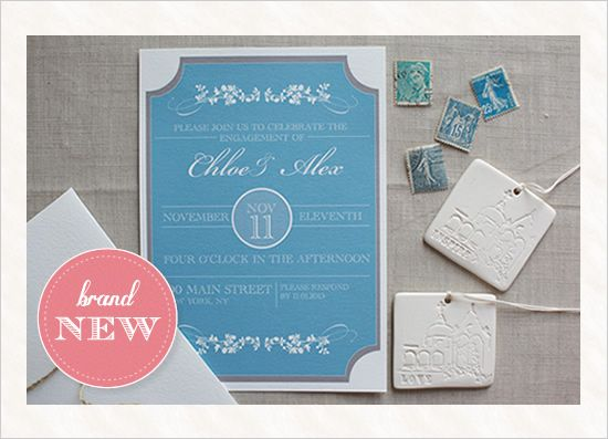 NEW Customizable Free Engagement Invitation Wedding stationery - free engagement party invitations