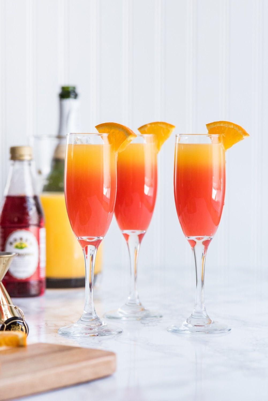 Tequila Sunrise Mimosa Recipe Tequila Sunrise Brunch Drinks Champagne Brunch