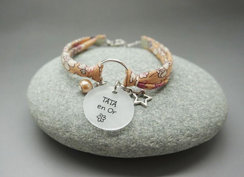regarder 5707c 940fd bracelet cercle liberty cabochon