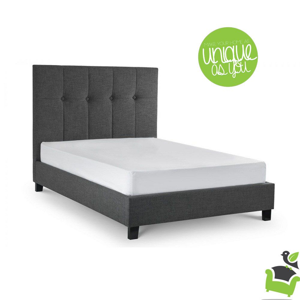 sorrento contemporary high headboard bed frame bedroom beds