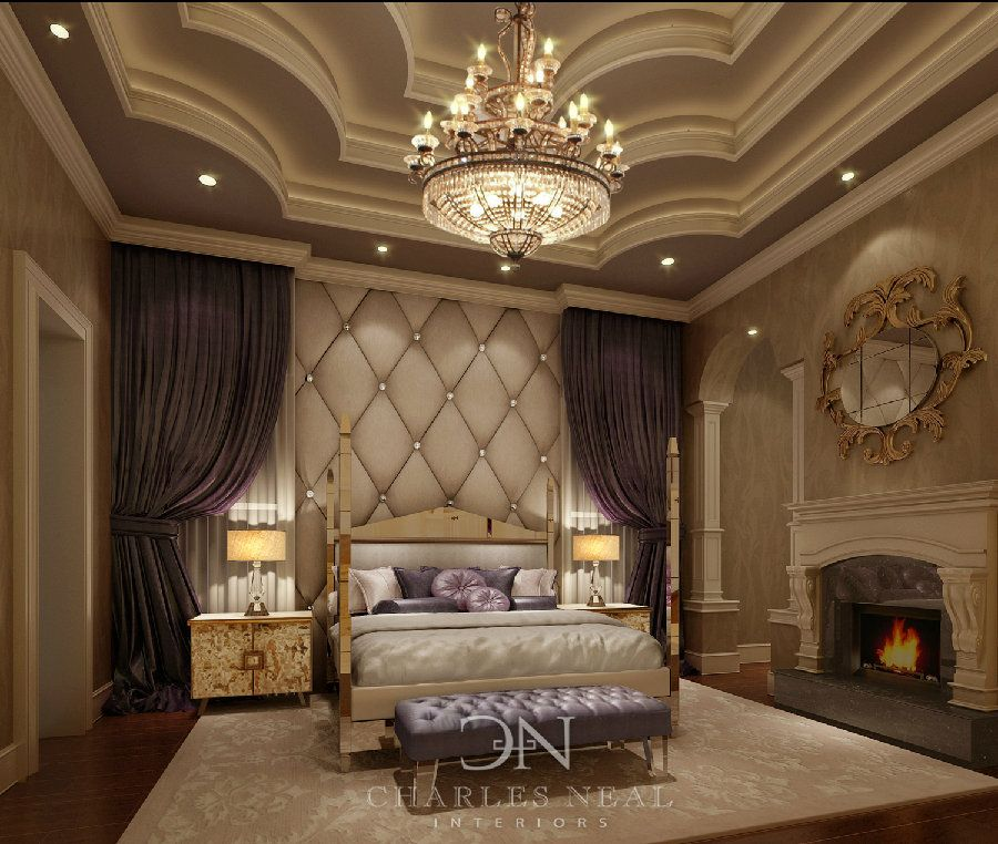 Wow Luxurious Master Bedroom Charles Neal Interiors Luxury