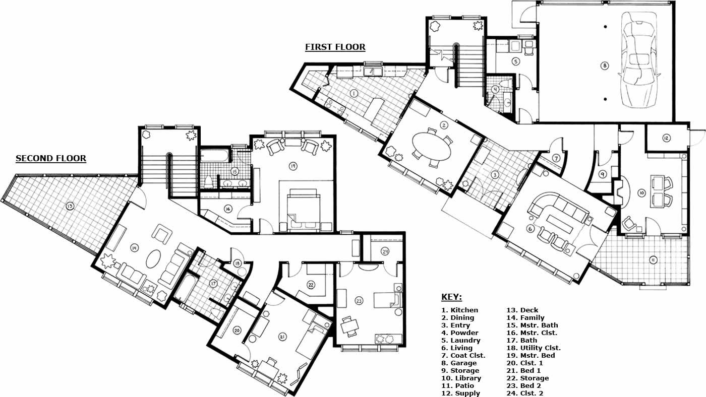 Floor plans for modern homes zionstarnet Find the best images