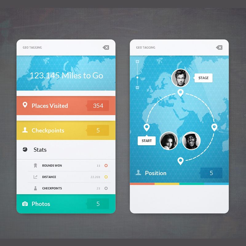 to Geo Tagging App!!! cool design mobileapp