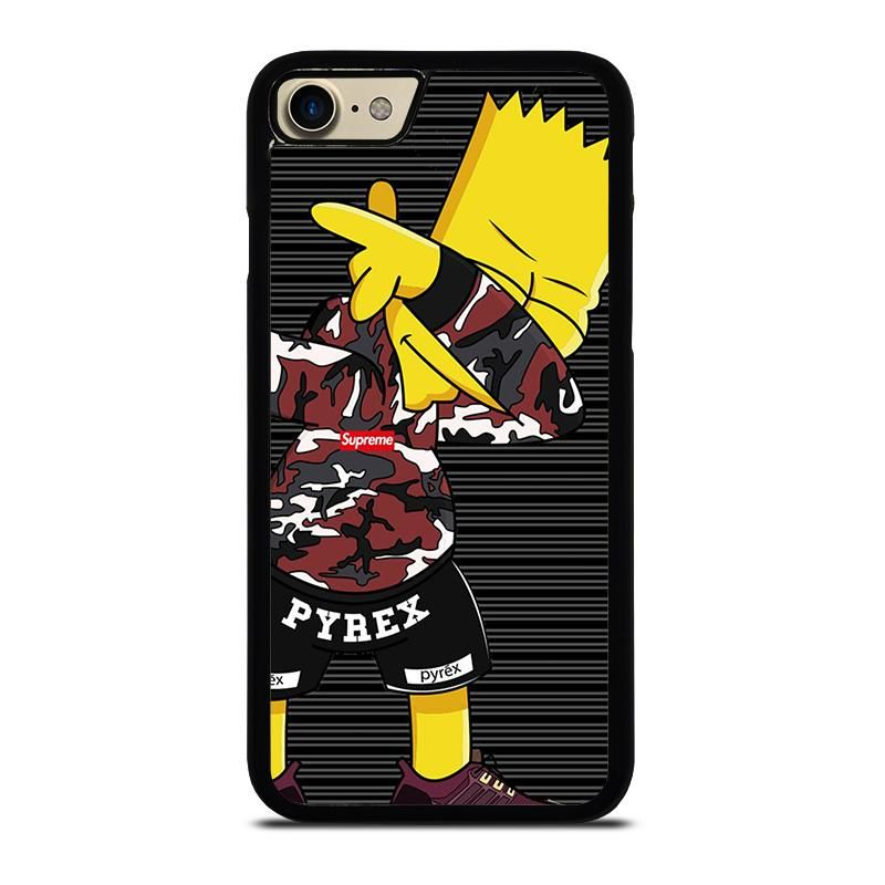 Bart Simpson Supreme Camo Dab Iphone 7 Case Best Custom Phone Cover Cool Personalized Design Favocase Case Casing Iphone Gambar