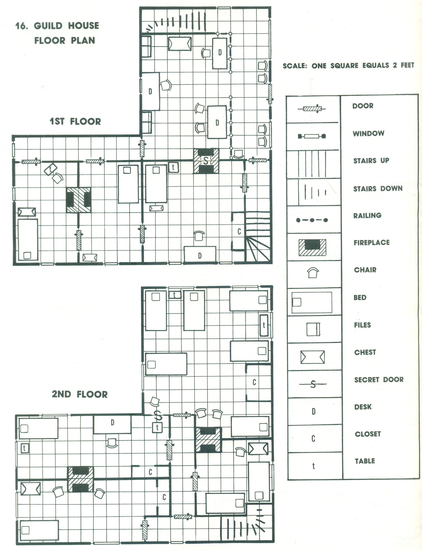 Rpg floor plans asian