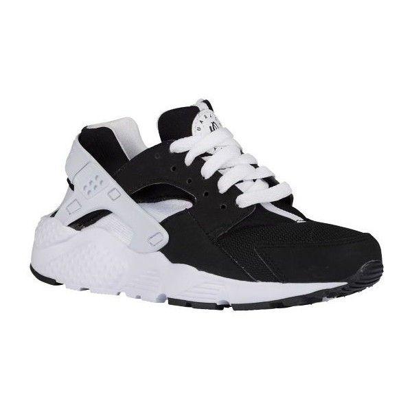74765d39891b6 italy nike huarache run boys preschool all black black 11e4d 02165  usa nike  huarache champs sports liked on polyvore featuring shoes 2a463 fd6ff