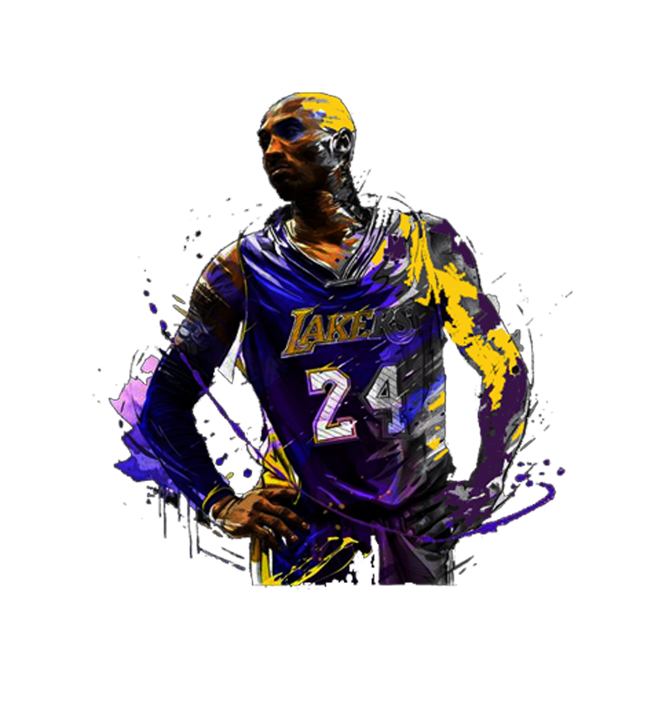 Bryant 24 Drawing Colorful Art Print By Neldahumprey X Small In 2020 Kobe Bryant Poster Bryant Basketball Kobe Bryant Wallpaper