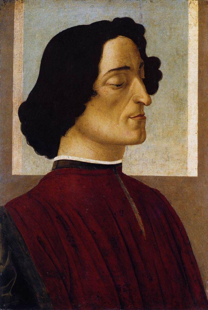 Ritratto di Giuliano de' Medici di Sandro Botticelli