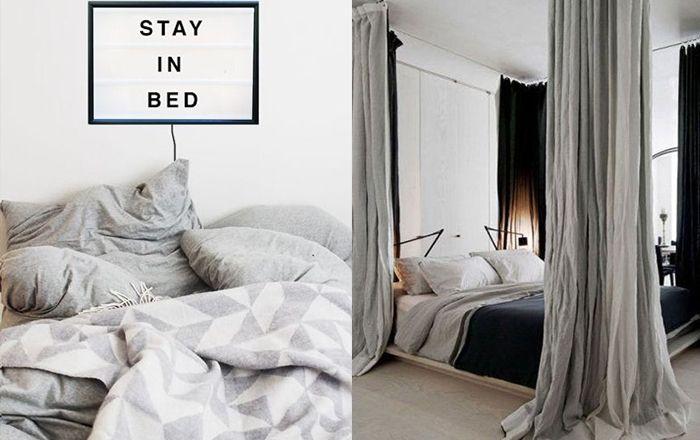 Slaapkamer Interieur Grijs : Grijze slaapkamers huisdecoratie grijze