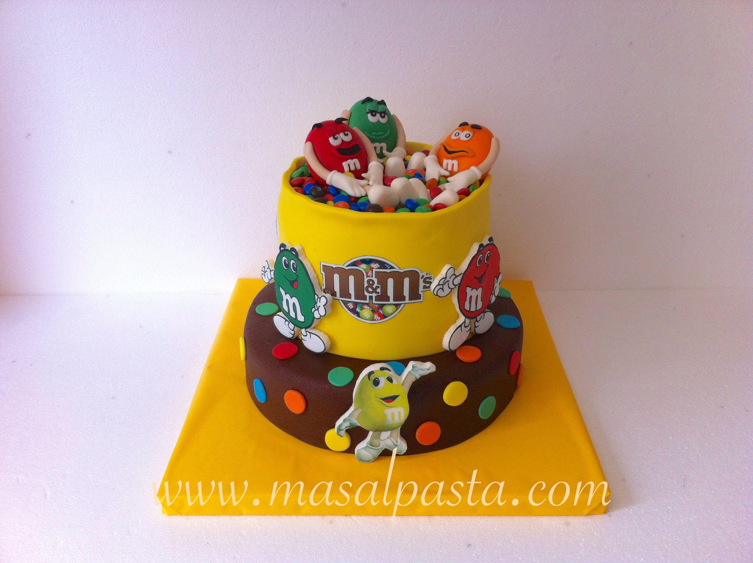 Superb Mm Cake Themed Birthday Cakes Birthday Cake Kids Cake Decorating Birthday Cards Printable Giouspongecafe Filternl