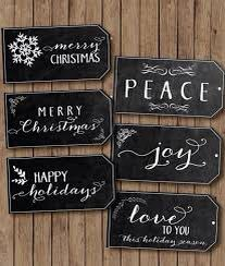 Black Themed Christmas
