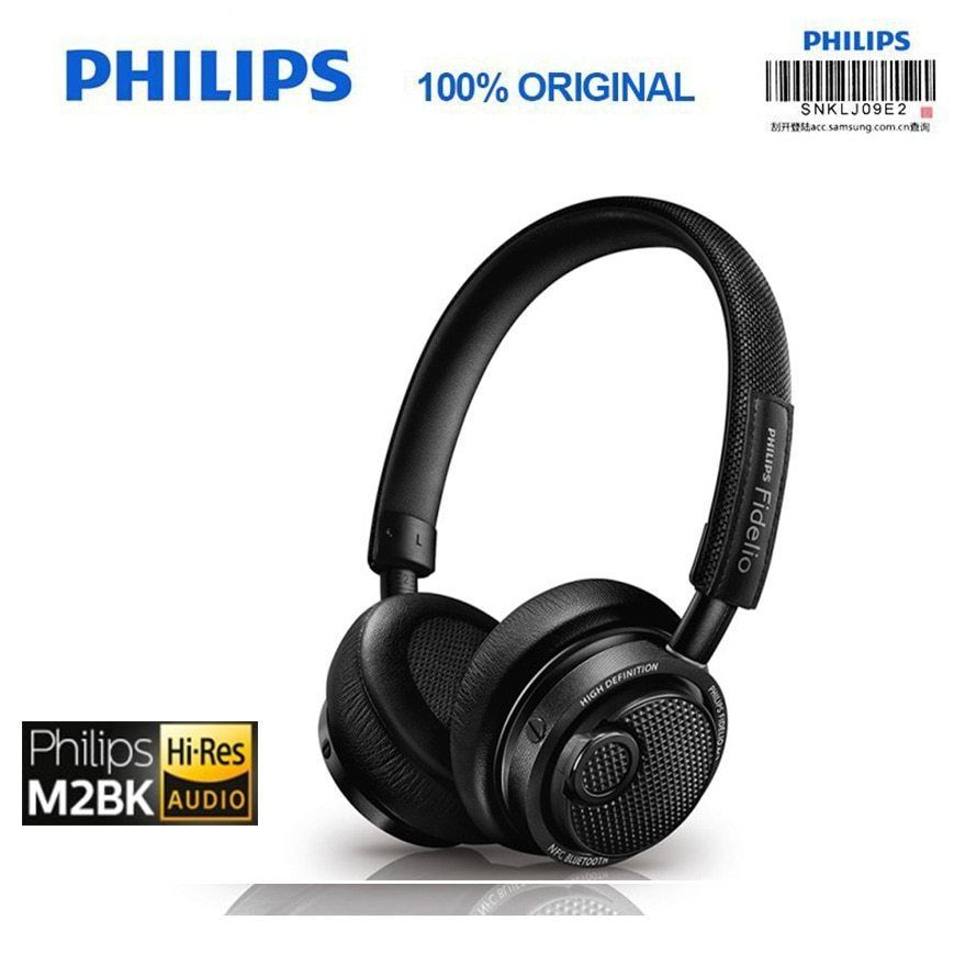 f2ac76daf7e eBay #Sponsored Philips Original M2BT/00 High Resolution Wireless Bluetooth  Headset HIFI NFC