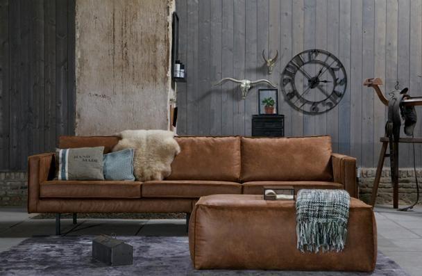 Sofa 3 Sitzer Leder Be Pure Home Braun Bei Mobelhaus Dusseldorf Ledersofa Zuhause Modernes Ledersofa