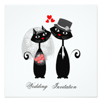EPS Vectors of Groom and bride, cats wedding for your design csp6259669 -  Search Clip Art, Illustration, Drawings… | Cat wedding, Cat template,  Wedding planner logo