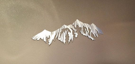 Colorado Mountain Metal Art That Can Spruce Up Any Room