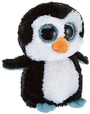 Amazon Com Ty Beanie Boos Waddles Penguin Cat And Pengu