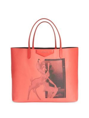 db7fe250ccc90 GIVENCHY Large Antigona Bambi Tote.  givenchy  bags  hand bags  polyester   tote  cotton