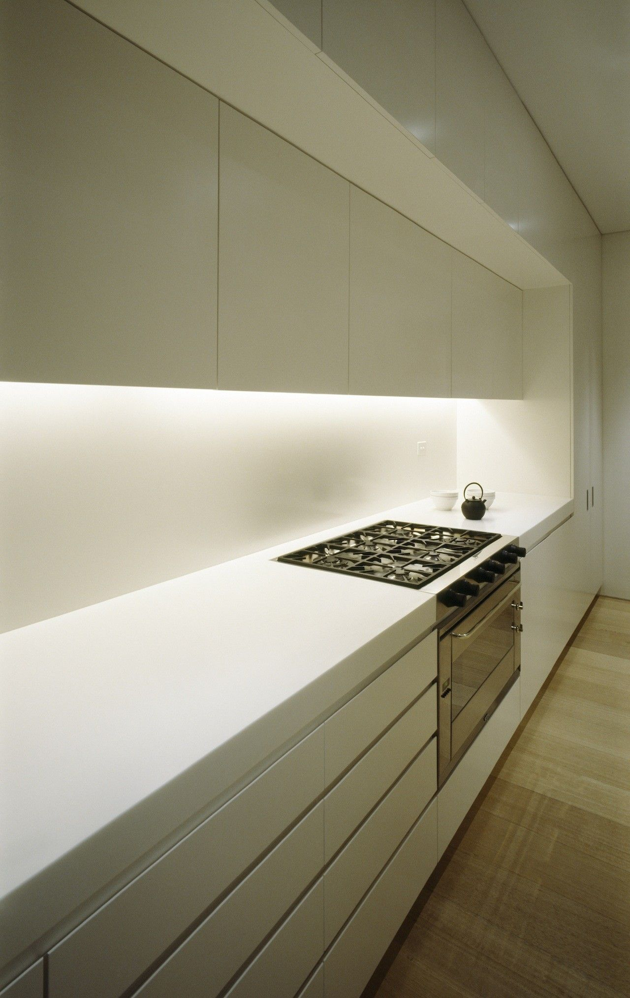 gallery of fink house / ian moore architects - 6 | led lichtband ... - Lichtband Küche