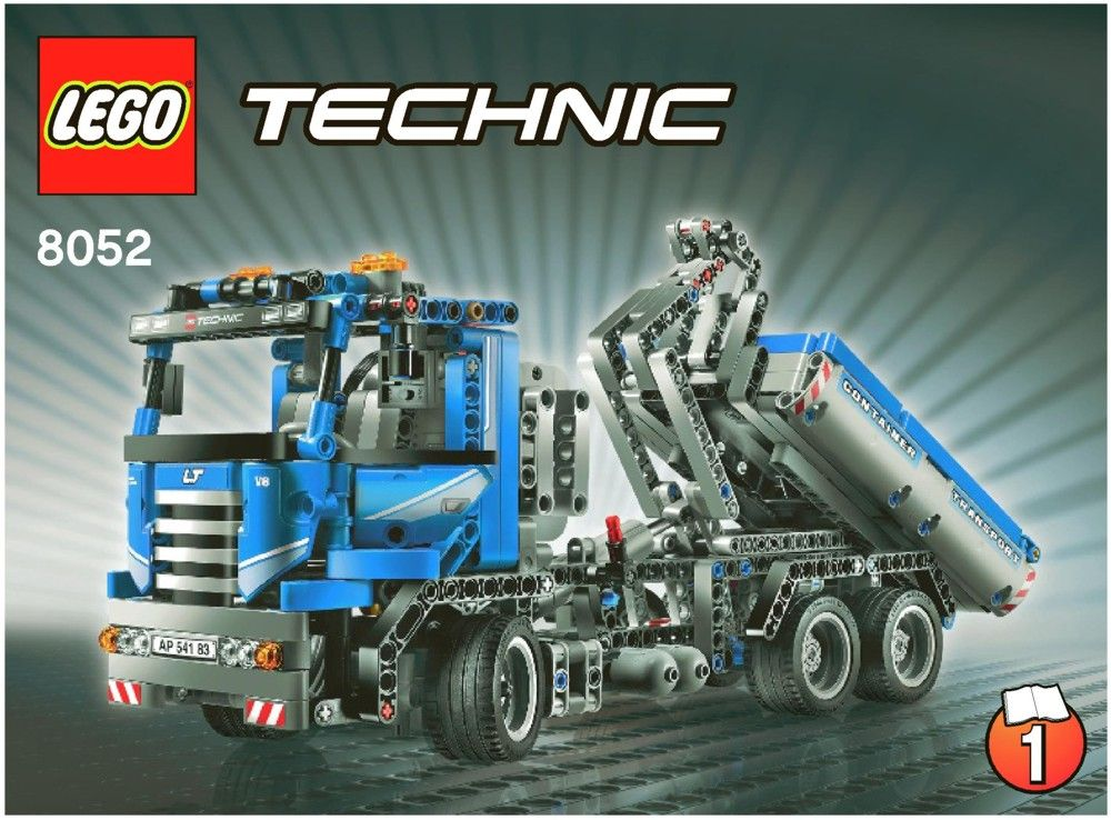 My Lego Technic Container Truck 8052 Lego Pinterest Container