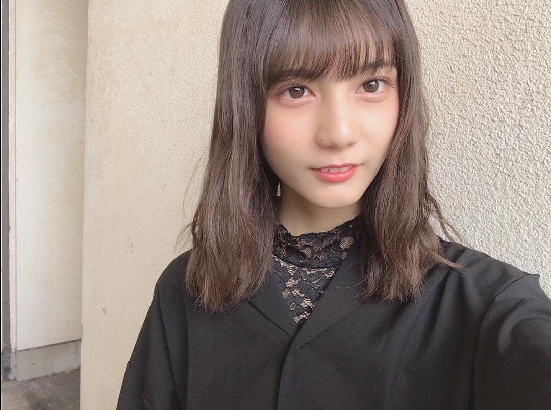 前髪 小坂 菜緒