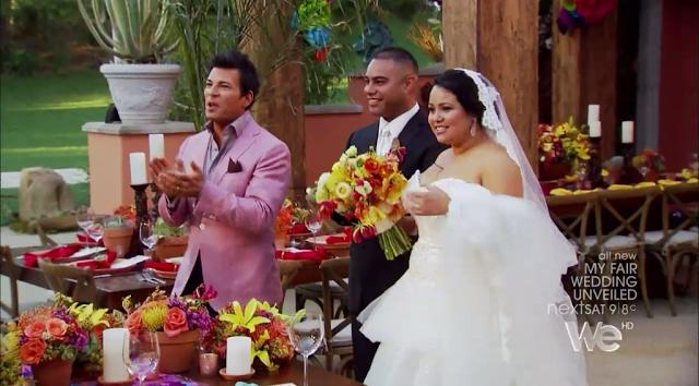 My Fair Wedding Unveiled Recap Mexican Polynesian Bride This Fairy Tale Life Bride Budget Bride Wedding
