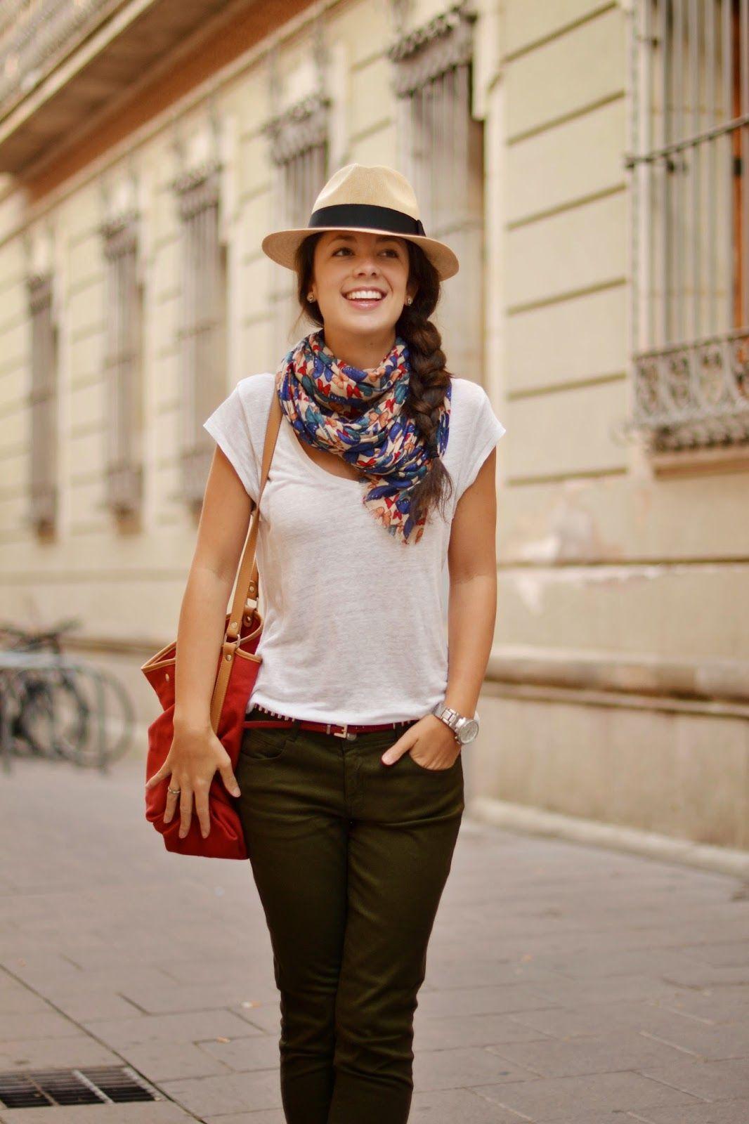 Cómo combinar los pantalones caqui en tu look de otoño : MartaBarcelonaStyle's Blog