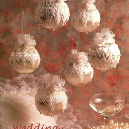 Crochet Christmas or Wedding Ornament Cover Patterns