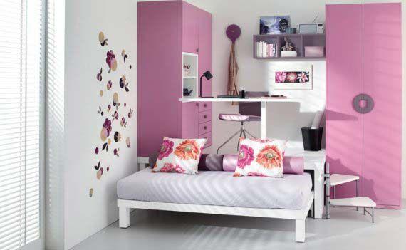Decoración de recamaras para niñas casa Pinterest Recamara