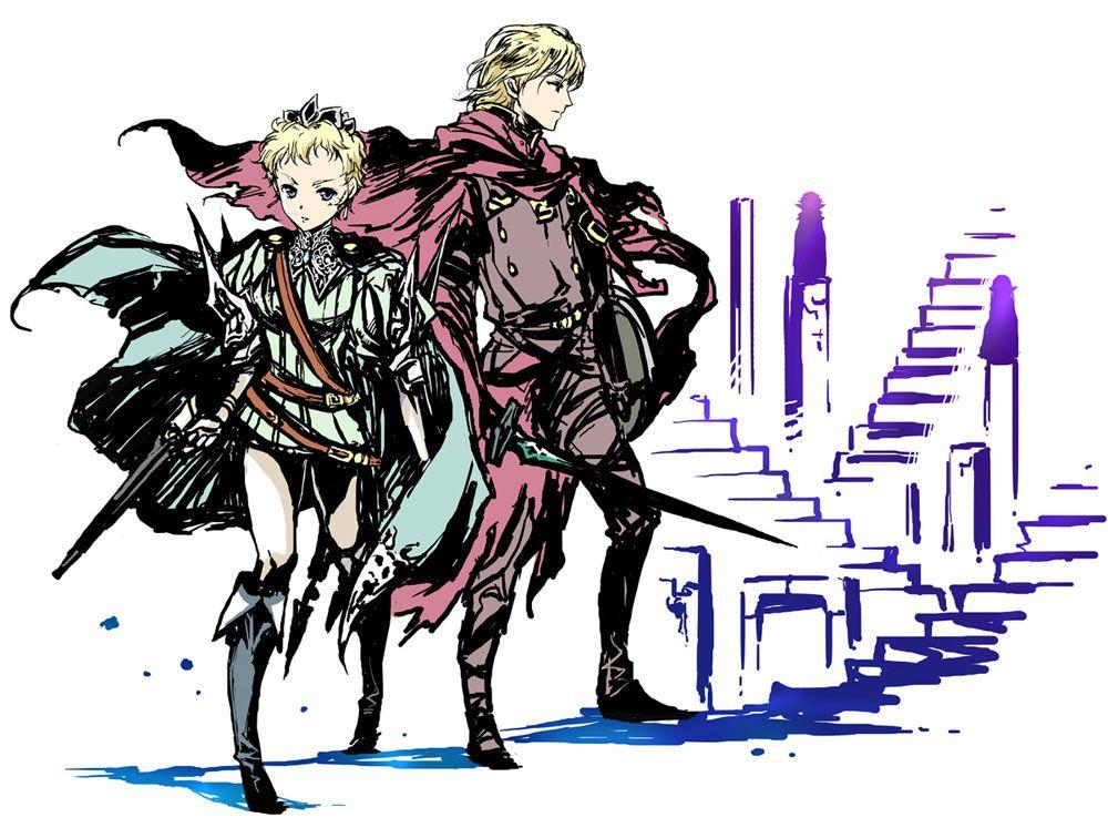 Radiant Historia - Eruca & Stocke | Jeux | Pinterest | Historia