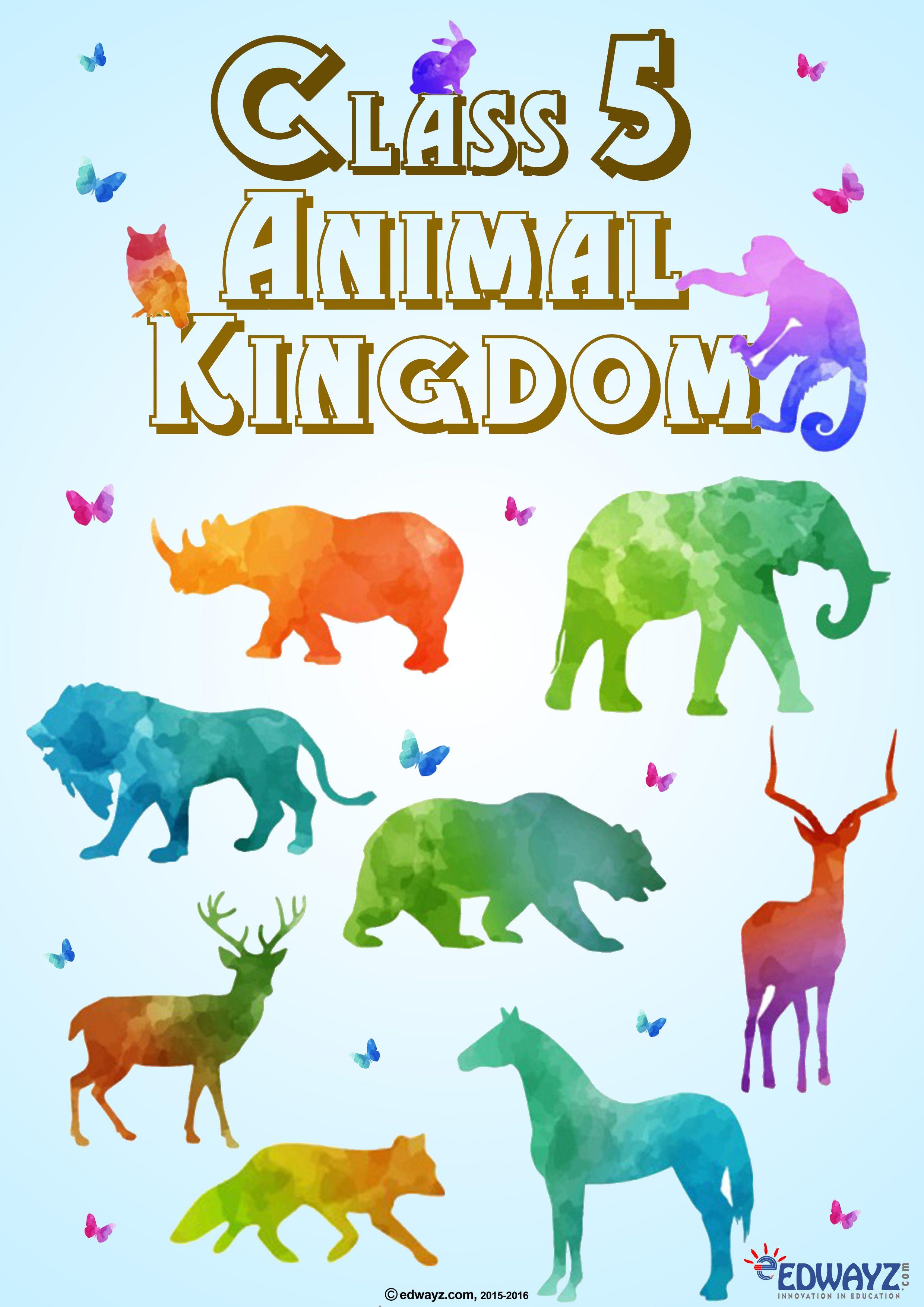 Freeworksheets Edwayz Class5 Evs Animalkingdom