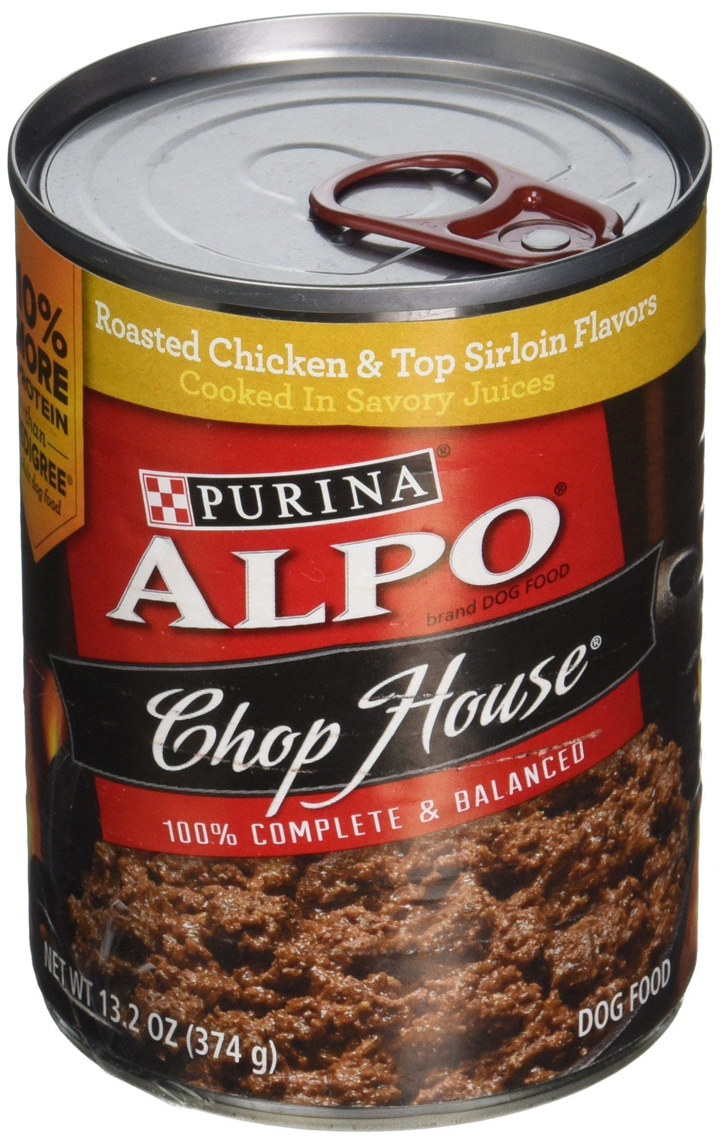 Alpo chop house roasted chicken flavor dog food 132 oz
