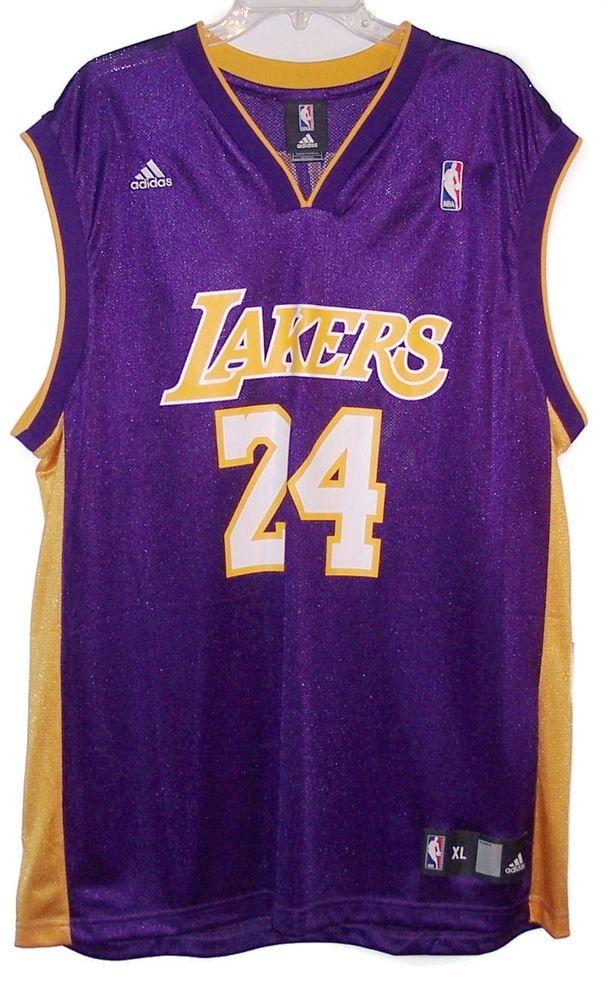 e3cf5e31de2e Adidas Kobe Bryant Los Angeles Lakers NBA Basketball Jersey Men  XL  adidas